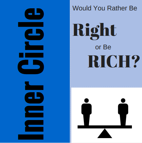 IC lesson: Be Right, or Be Rich?